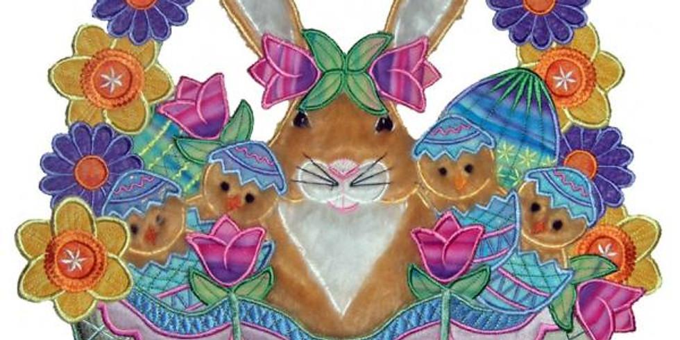 3D Easter Wreath