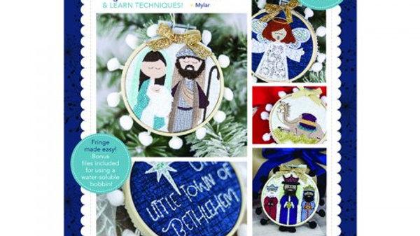HAPPY HOOP DECOR, VOLUME 2: Christmas Nativity