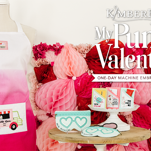 Kimberbell My Punny Valentine! In store and Virtual!