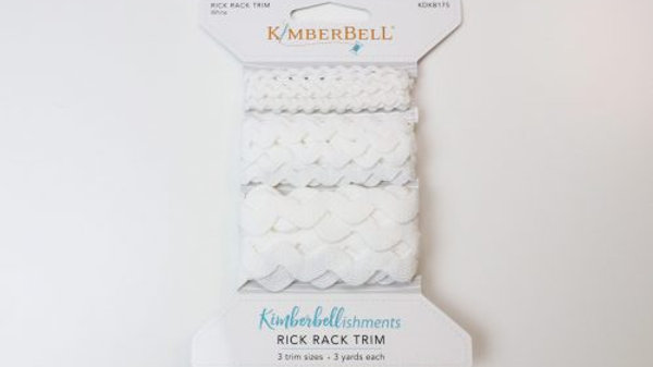 RICK RACK TRIM – WHITE