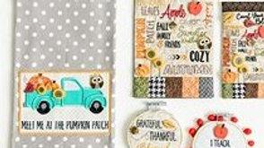 Buttons Always in Season Autumn Fabric Kit