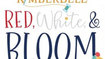 Red White & Bloom Embellishment kit PRE ORDER
