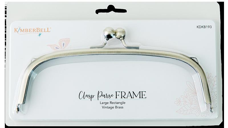 CLASP PURSE FRAME – LARGE RECTANGLE