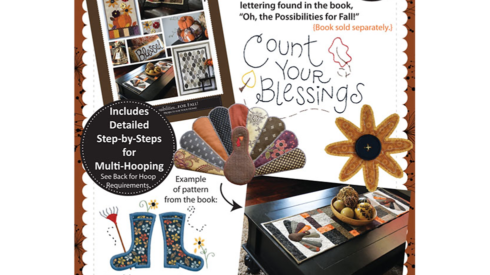Oh the Possibilities for Fall (CD and book bundle)