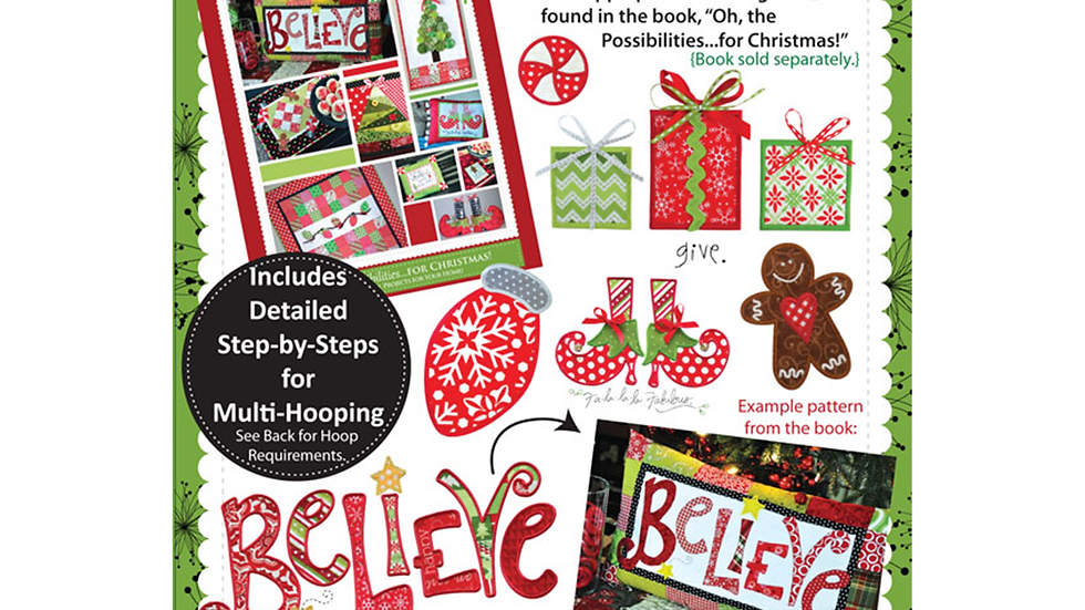 Oh the Possibilities for Christmas CD and book bundle