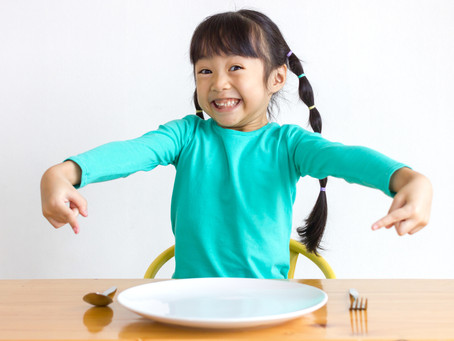 Kids use food to cope