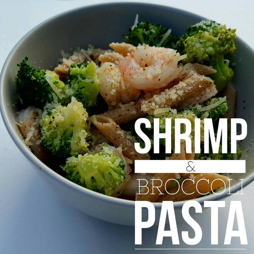 Shrimp Broccoli Pasta