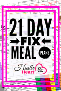 21 Day Fix Meal Plan Collection