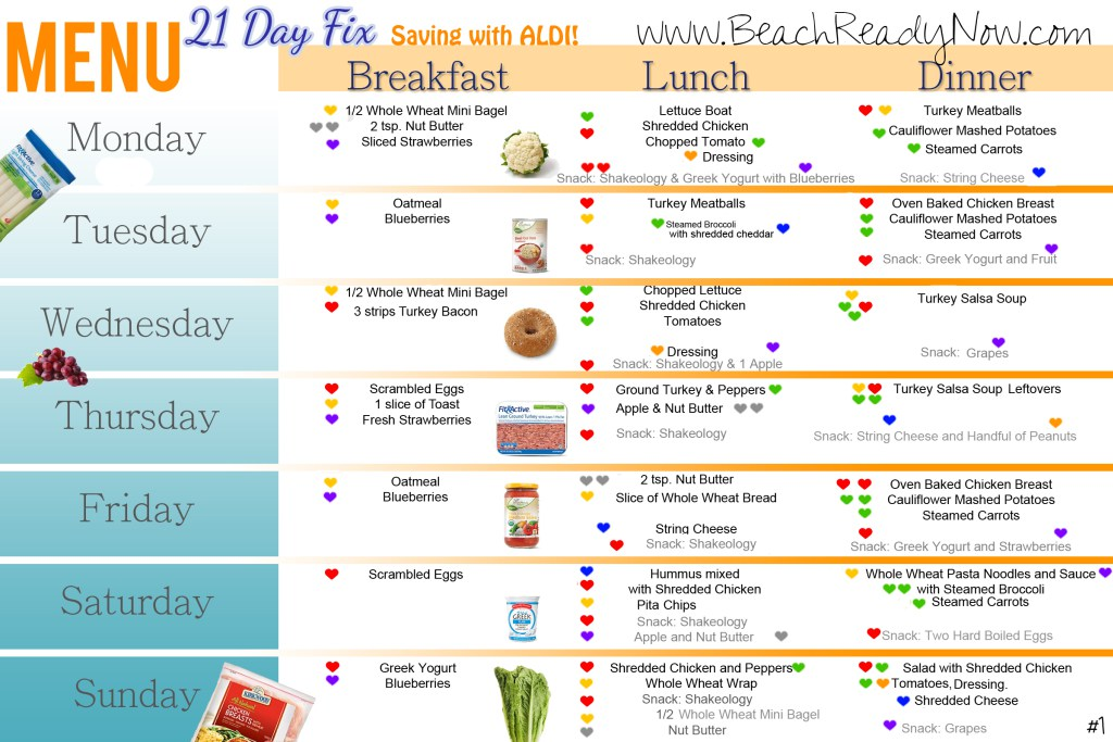 Day Fix Meal Plans  Fix Friendly Recipes And Tips  United