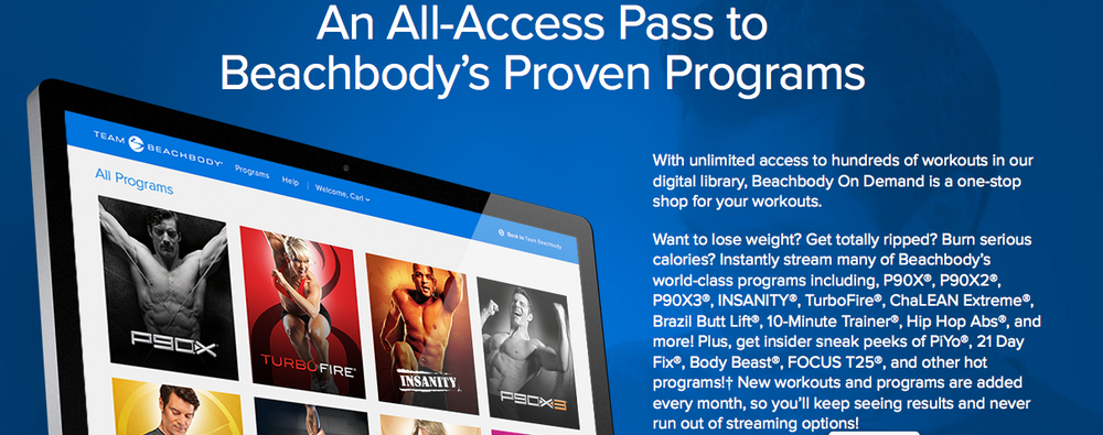 Free Trial of Beachbody on Demand