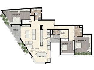 Penthouse - Level 01