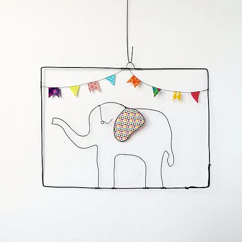 Suspension Éléphant