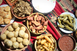 Traditional Apthapi Lunch