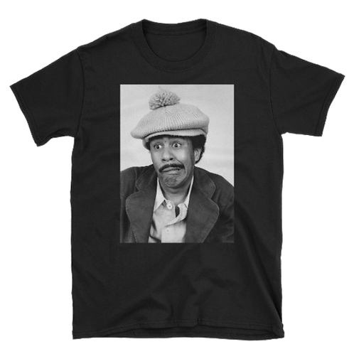 Smile Rich!, Comedian Richard Pryor, Short-Sleeve Unisex T-Shirt