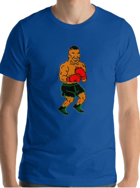Iron Mike, Punch Out, 64bit Tyson, Short-Sleeve Unisex T-Shirt Expired