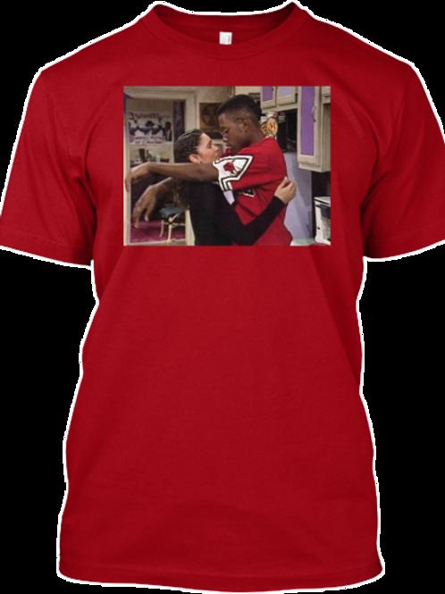 "Dwayne & Whitley, ""A Different (World) Love,"" Short-Sleeve Unisex T-Shirt"
