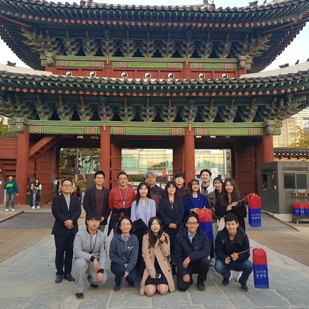 Enjoying the autumn colors at Changgyeong Palace!