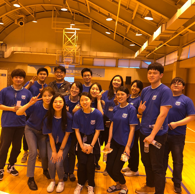 Field day group shot
