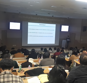 Prof. Jung lecturing in SNU Medical Dream of Nobel Prize and Start-up 2018