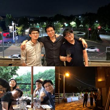 Friday night in Itaewon