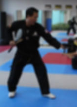 Fitness Factory Martial Arts Instructor Mr. Siu.