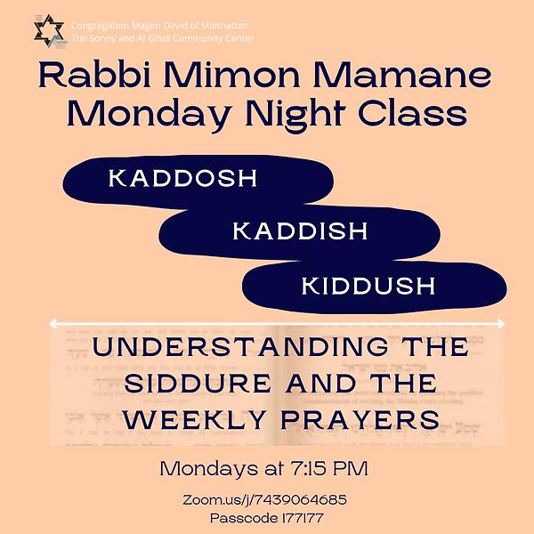 Rabbi Mimon Mamane Class Spring 2021.png