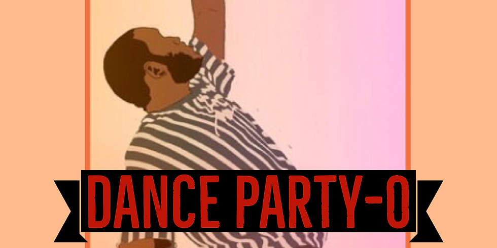 B. FREE   DANCE PARTY-O