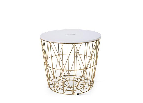 שולחן קפה עגול מעוצב- 4020