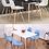 Thumbnail: סט שולחן דגם כלנית+ 4 כסאות דגם לירן