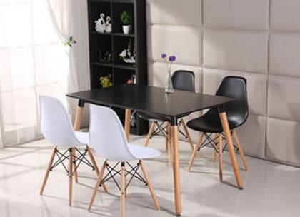 סט שולחן דגם כלנית+ 4 כסאות דגם לירן
