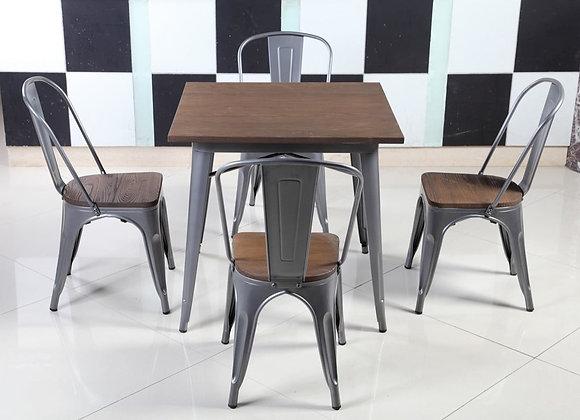 סט שולחן+ 4 כסאות דגם-3021