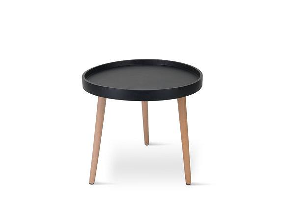 שולחן קפה עגול מסגרת