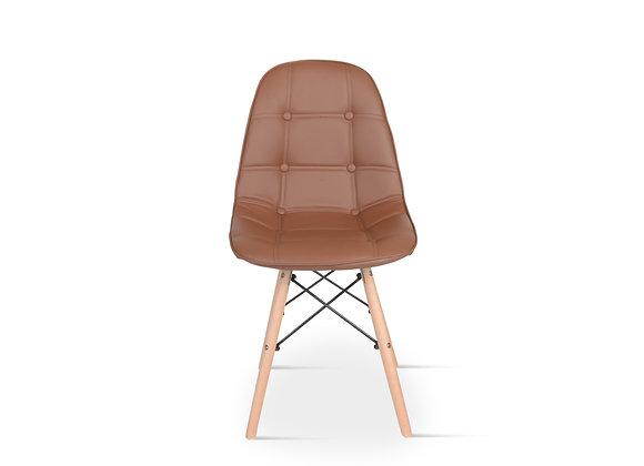 כיסא מעוצב מרופד דגם-1710עץ