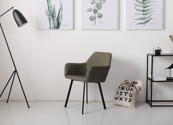 כיסא מעוצב מרופד דגם-1707