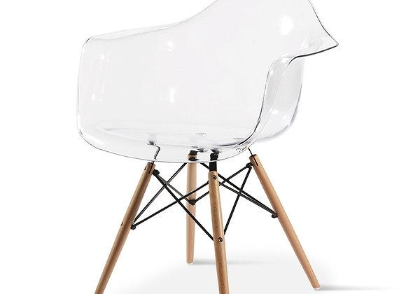 כיסא שקוף דגם קארין