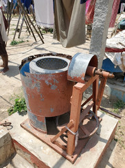 An iron age washing machine?