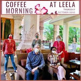 Leela Coffee Morning