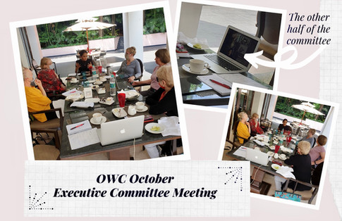 In the Room + the Zoomed Committee Meeting