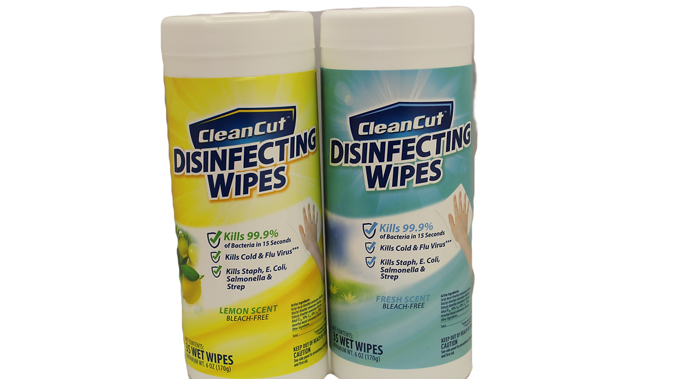 CleanCut Disinfectant Wipes