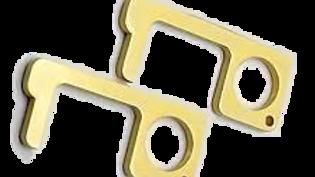 Brass Touchless Anti-Germ Tool