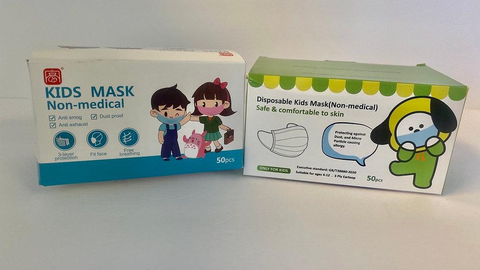 Children's Mask - pack of 50