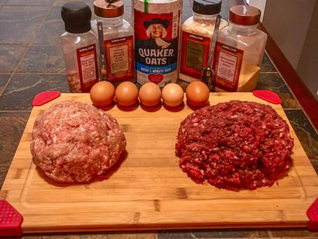 Cara's Venison Sausage Burgers (and food prep hack!)