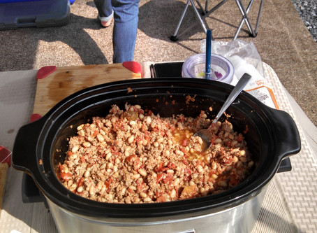 Zion's Beans and Sausage Crock Pot Dinner