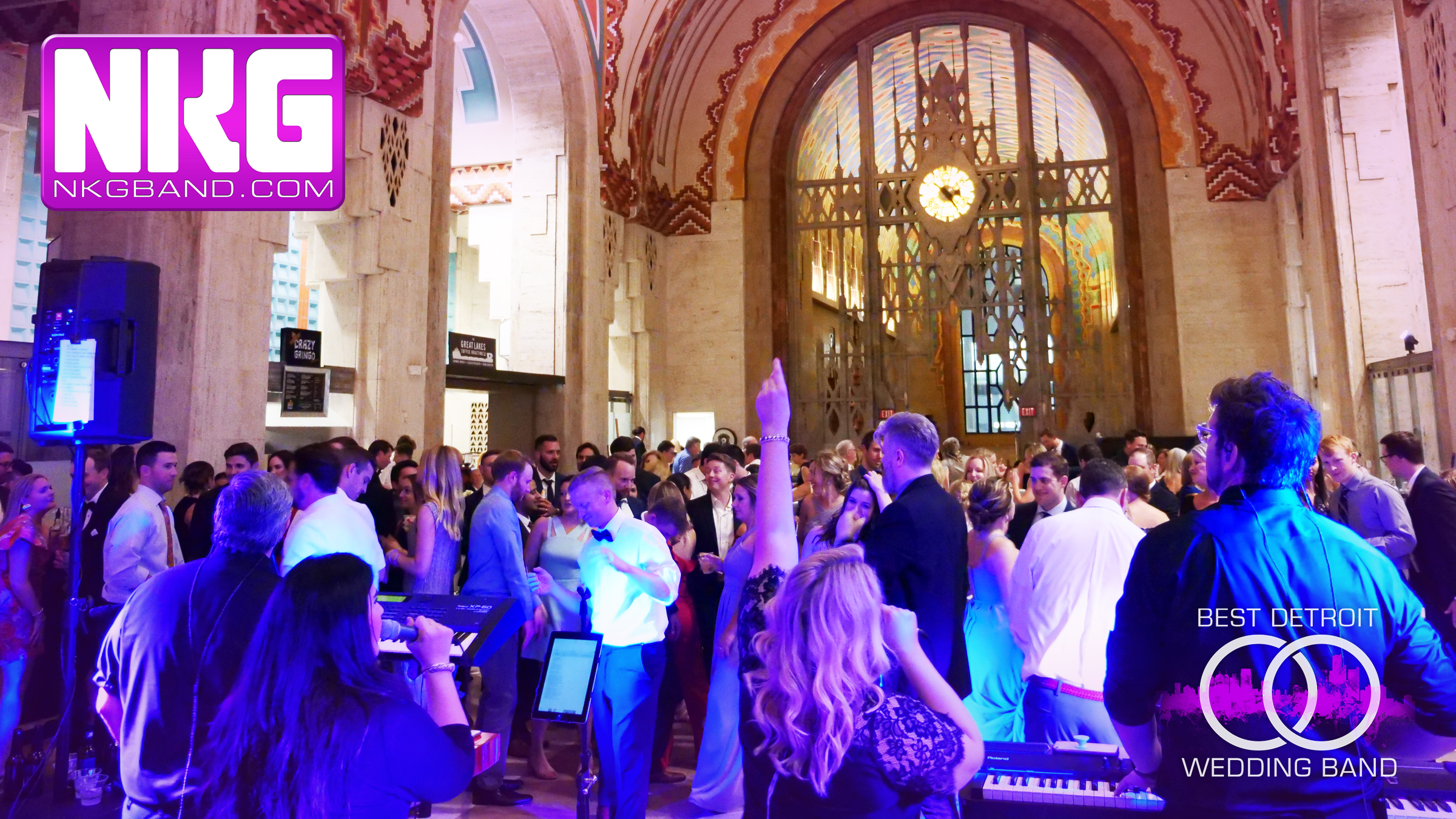 The Guardian Building Detroit Wedding NKG