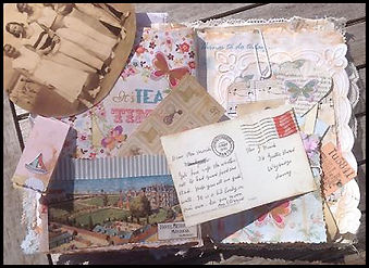 Junk Journal making course | Scrapbook Spain | Craft holiday Spain | Arts and Crafts Spain