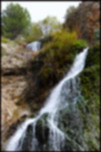 waterfalls in the countryside Granada