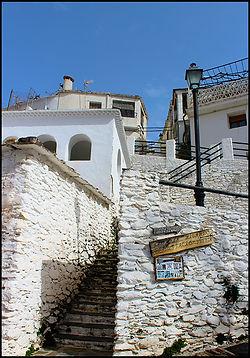 white village street Andalucia