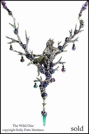 mythological jewellery | kelly potts martinez sculpture