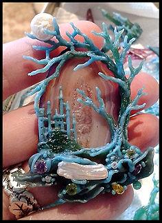 fairy castle sculpture | craft holidays Spain