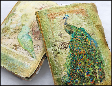 vintage journal making course | scrapbooking course | craft holidays Spain